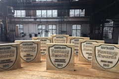 Houten tekstbord - Awards