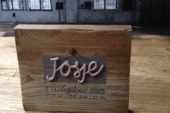 Geboorteplank Josje