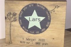 Geboorteplank-Lars