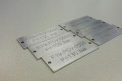 Graveren RVS tagplates